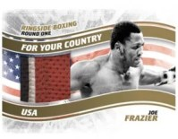 2010 Ringside Boxing Round 1 Joe Frazier Patch