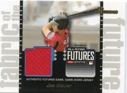 Joe Mauer Futures Game Jersey