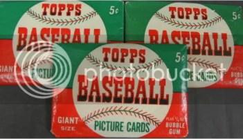 1952 Topps Baseball Pack
