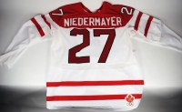 Scott Niedermayer Canada Olympic Game Used Jersey