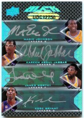 2008/09 UD Black Octo Autograph Lakers