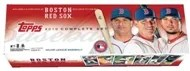 2010 Topps Baseball Boston Red Sox Factory Set