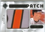 2009 Upper Deck Ultimate Collection Cal Ripken Jr Patch
