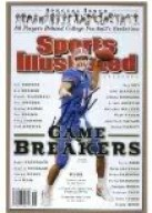 Tim Tebow SI Sports Illustrated Game Breakers Cover 9/10/2008