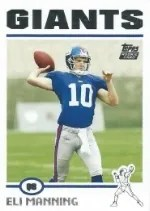 2004 Topps Eli Manning RC Card