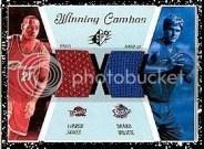 2003/04 UD SPx Winning Combos LeBron James Darko