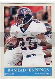 2009 UD Philadelphia Rashad Jennings #273