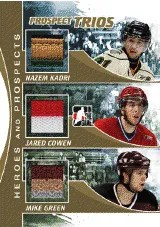 2010/11 ITG Triple Jersey Heroes and Prospects