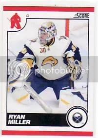 2010/11 Score Hockey Ryan Miller Base Card