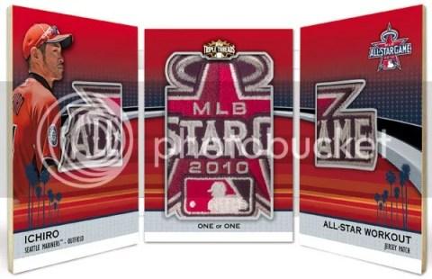 2011 Topps Triple Threads Ichiro All Star Jumbo Sleeve Patch