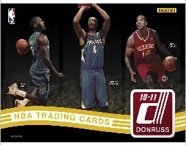 2010-11 Panini Donruss Basketball Hobby Box