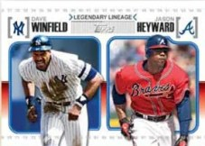 2010 Topps Update Series Legendary Lineage Winfield Heyward