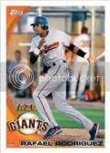 2010 Topps Pro Debut Series 2 Rafael Rodriguez Base Card