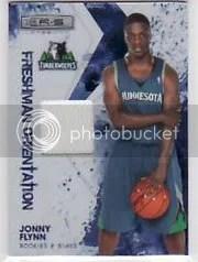 2009/10 Longevity Jonny Flynn Freshman Jersey