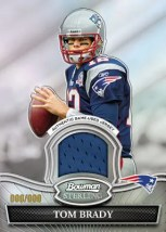 2010 Bowman Sterling Tom Brady Relic Jersey Card
