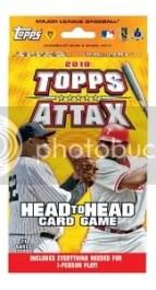2010 Topps Attax Baseball Starter Box
