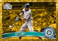 2011 Topps Series 1 Ichiro Canary Diamond Anniversary Parallel Base Card 1/1