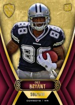 2010 Topps Supreme Dez Bryant RC Card