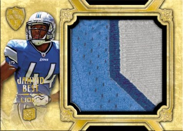 2010 Topps Supreme Jumbo Patches Jahvid Best Card