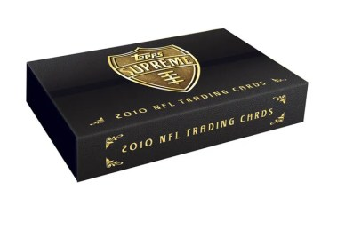 2010 Topps Supreme Football Hobby Box