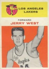 1961/62 Fleer Jerry West Rookie RC