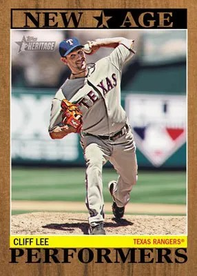 2011 Topps Heritage New Age Performers Clif Lee