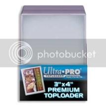 Ultra Pro 3x4 Standard Card Size Top Loader Holder