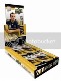 2011 Upper Deck Soccer Box