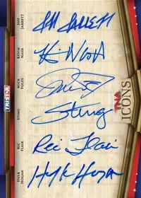 2010 TNA Icons Six Autograph