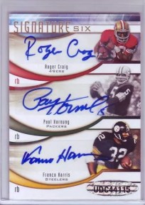 2009 Upper Deck Sp Signature Six Auto