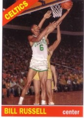 2007/08 Topps Bill Russell Missing Years