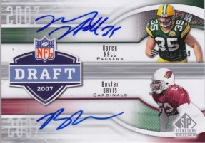 2009 Sp Signature Draft Years 2007 Davis/Hall