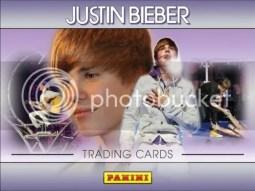 2010 Panini Justin Bieber Trading Cards