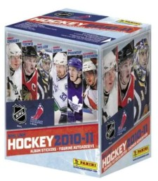 2010/11 Panini NHL Stickers Hockey Box