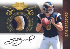 2010 Plates & Patches Sam Bradford Prime Jersey