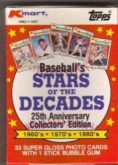 1987 K-Mart Topps Baseball Card Set