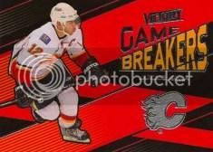 2010/11 UD Victory Game Breakers Jarome Iginla