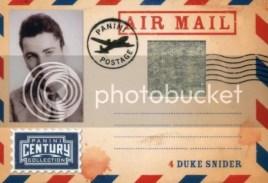 2010 Panini Century Duke Snider Air Mail Jersey /50