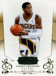 2010-11 Panini Timeless Treasures Danny Granger Jersey Patch Parallel Card