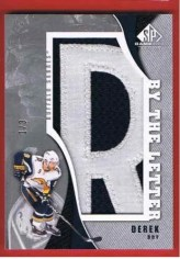 10/11 Sp Game Used By The Letter Derek Roy