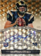 2010 Bowman Sterling Sam Bradford Superfractor RC