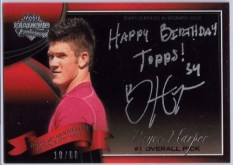 2010 Bowman Sterling Bryce Harper 60th Autograph
