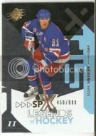2010-11 Spx Mark Messier Legend /999