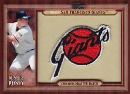 2011 Topps Buster Posey Commemorative Patch