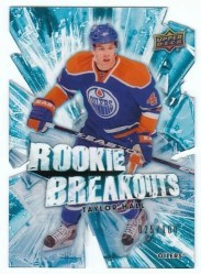 2010-11 Upper Deck Hockey 2 Taylor Hall Rookie Breakout /100