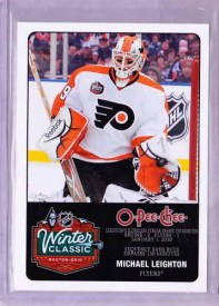 10/11 UD O-Pee-Chee Winter Classic Michael Leighton