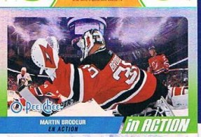 2010/11 OPC In Action SP Martin Brodeur