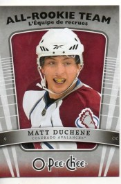 10/11 UD O Pee Chee Matt Duchene All Rookie Team