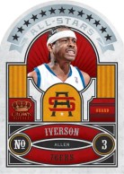 09/10 Panini Crown Royale Allen Iverson All Star