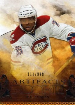 2010/11 Upper Deck Artifacts Hockey PK Subban RC Card